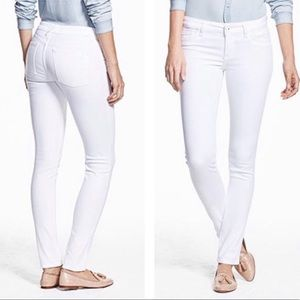 DL1961 Amanda White Skinny Jeans in Porcelain